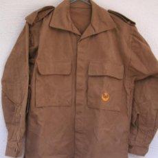 Militaria: CAMISOLA DE TROPAS NÓMADAS, ATN, BORDADO, SÁHARA, HOMBRERAS DESMONTABLES, CODERAS ACOLCHADAS. Lote 131049828
