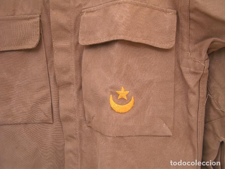 Militaria: CAMISOLA DE TROPAS NÓMADAS, ATN, BORDADO, SÁHARA, HOMBRERAS DESMONTABLES, CODERAS ACOLCHADAS - Foto 2 - 131049828