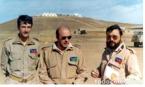 Militaria: CAMISOLA DE TROPAS NÓMADAS, ATN, BORDADO, SÁHARA, HOMBRERAS DESMONTABLES, CODERAS ACOLCHADAS - Foto 10 - 131049828