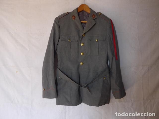 ANTIGUA GUERRERA DE LA POLICIA ARMADA CON SU GALON, ORIGINAL. (Militar - Uniformes Españoles )