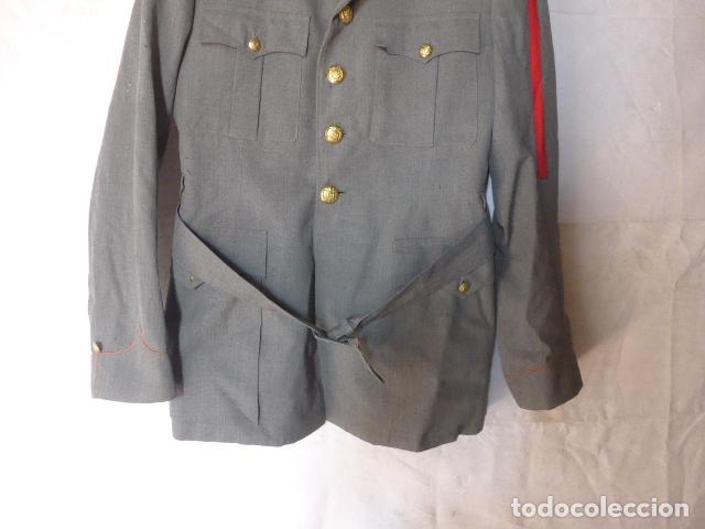 Militaria: Antigua guerrera de la policia armada con su galon, original. - Foto 3 - 132015742