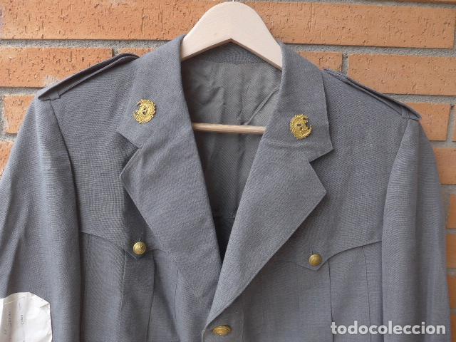 Militaria: * Antigua guerrera de la policia de puertos, tipo p. armada, original. ZX - Foto 2 - 132682458