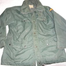 Militaria: ANTIGUO ANORAK ABRIGO CAZADORA DE LA GUARDIA CIVIL 1986. TALLA 58R. 1,1 KG. Lote 132746954