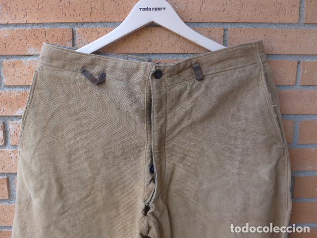 Militaria: * Antiguo pantalon breches original, ejercito popular republicano de guerra civil. ZX - Foto 2 - 133724530