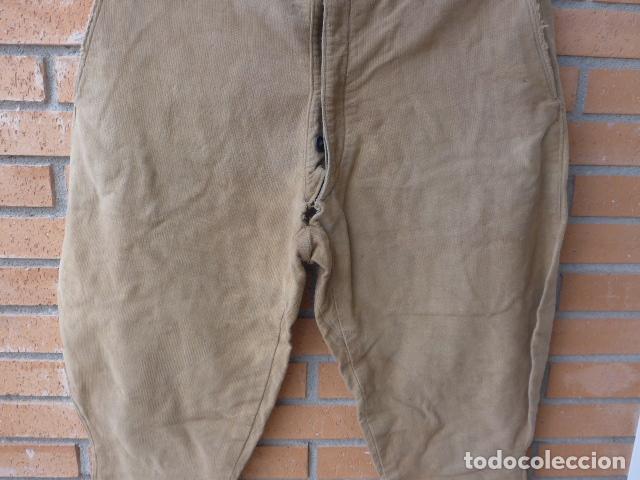 Militaria: * Antiguo pantalon breches original, ejercito popular republicano de guerra civil. ZX - Foto 3 - 133724530