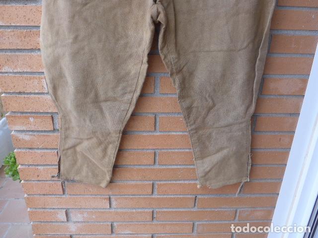 Militaria: * Antiguo pantalon breches original, ejercito popular republicano de guerra civil. ZX - Foto 4 - 133724530
