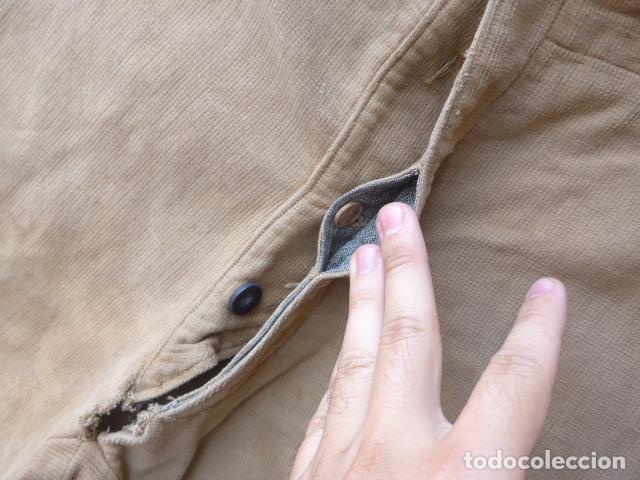 Militaria: * Antiguo pantalon breches original, ejercito popular republicano de guerra civil. ZX - Foto 8 - 133724530