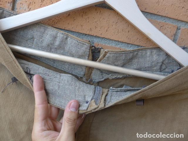 Militaria: * Antiguo pantalon breches original, ejercito popular republicano de guerra civil. ZX - Foto 10 - 133724530