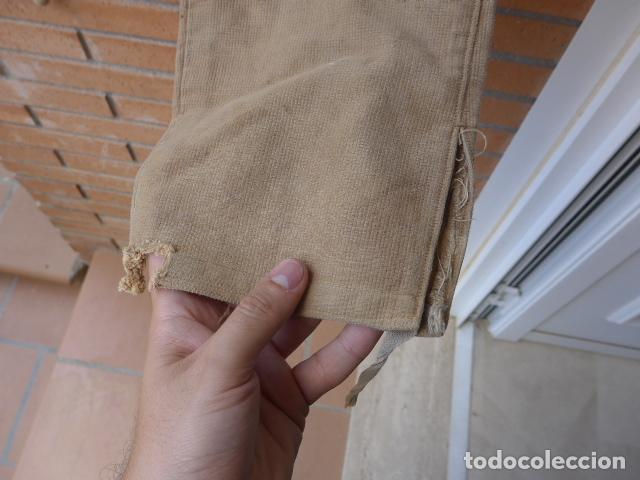 Militaria: * Antiguo pantalon breches original, ejercito popular republicano de guerra civil. ZX - Foto 11 - 133724530