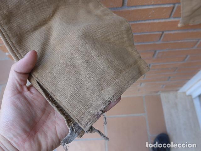 Militaria: * Antiguo pantalon breches original, ejercito popular republicano de guerra civil. ZX - Foto 13 - 133724530