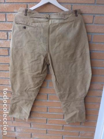 Militaria: * Antiguo pantalon breches original, ejercito popular republicano de guerra civil. ZX - Foto 14 - 133724530