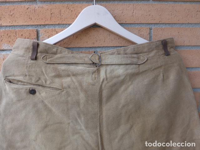 Militaria: * Antiguo pantalon breches original, ejercito popular republicano de guerra civil. ZX - Foto 15 - 133724530