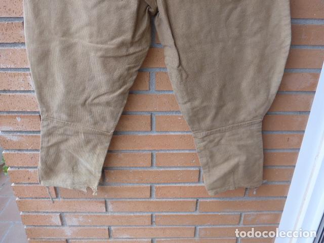 Militaria: * Antiguo pantalon breches original, ejercito popular republicano de guerra civil. ZX - Foto 16 - 133724530
