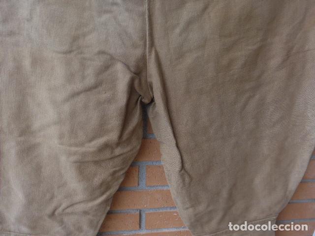 Militaria: * Antiguo pantalon breches original, ejercito popular republicano de guerra civil. ZX - Foto 17 - 133724530