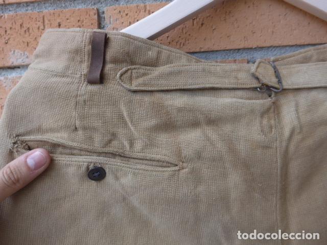 Militaria: * Antiguo pantalon breches original, ejercito popular republicano de guerra civil. ZX - Foto 18 - 133724530