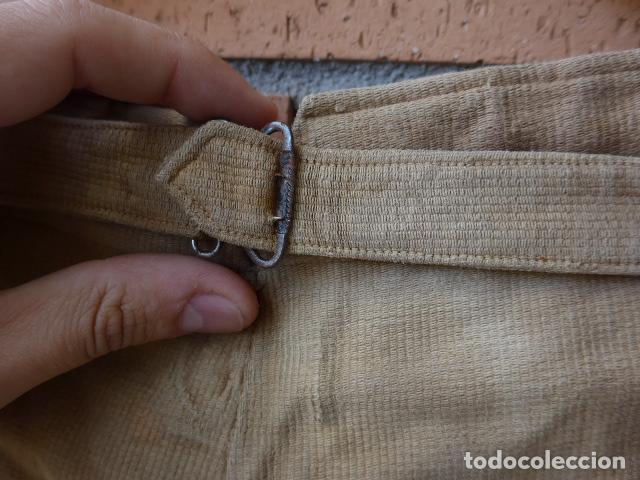 Militaria: * Antiguo pantalon breches original, ejercito popular republicano de guerra civil. ZX - Foto 19 - 133724530
