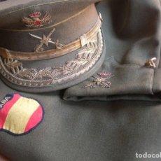 Militaria: DIVISION AZUL. UNIFORME COMPLETO DE GENERAL DE BRIGADA, VETERANO DIVISIONARIO.. Lote 136180098