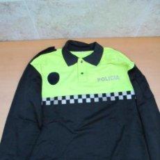 Militaria: POLO DE POLICÍA LOCAL DE MANGA LARGA. TALLA XL. Lote 136343682