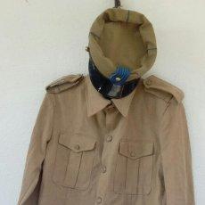 Militaria: ATN, TROPAS NÓMADAS, CAMISOLA (GUERRERA) Y TERESIANA.UNIFORME SAHARA. Lote 138978586
