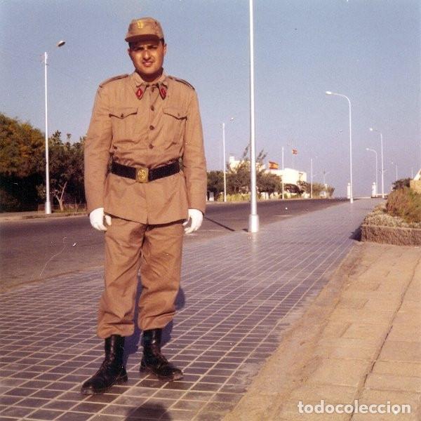 Militaria: ATN, tropas nómadas, camisola (guerrera) y teresiana.Uniforme Sahara - Foto 12 - 138978586