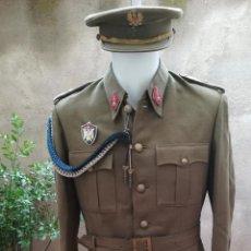 Militaria: UNIFORME DE ALFÉREZ, REGLAMENTO DE 1943 - POSGUERRA, ÉPOCA FRANCO - MILICIAS UNIVERSITARIAS. Lote 140454502