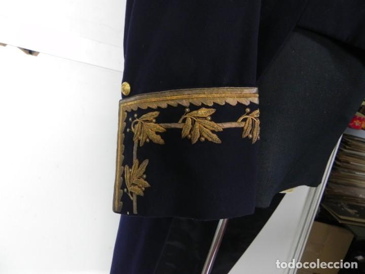 Militaria: Uniforme con levita de Ingenieros de Canales y Puertos, epoca Alfonso XIII, con Bicornio en excelent - Foto 6 - 140840870
