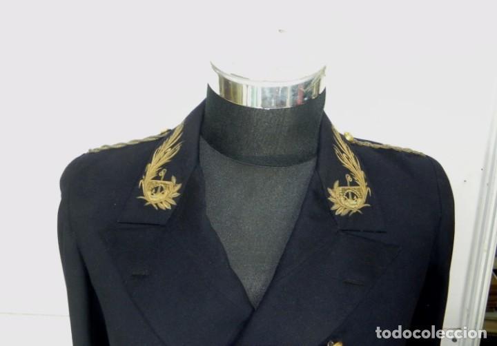 Militaria: Uniforme con levita de Ingenieros de Canales y Puertos, epoca Alfonso XIII, con Bicornio en excelent - Foto 8 - 140840870