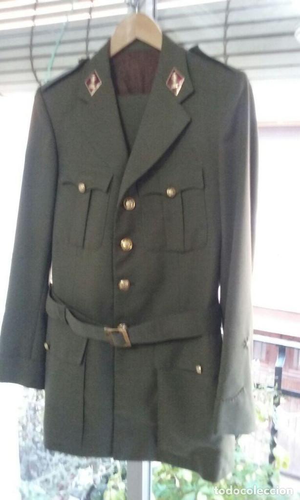 UNIFORME TRAJE MILITAR. ALFEREZ DE INGENIEROS.CHAQUETA PANTALÓN. (Militar - Uniformes Españoles )