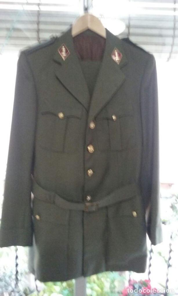 Militaria: Uniforme traje militar. Alferez de Ingenieros.Chaqueta pantalón. - Foto 2 - 183775068