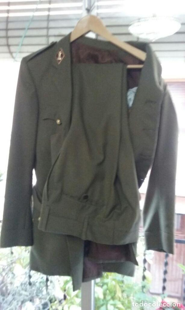 Militaria: Uniforme traje militar. Alferez de Ingenieros.Chaqueta pantalón. - Foto 3 - 183775068