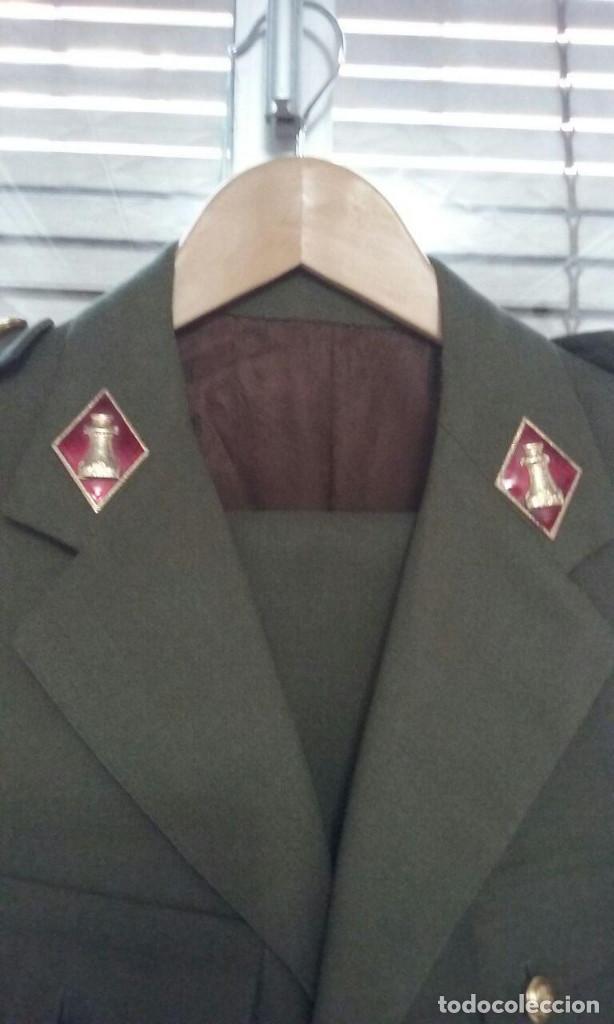 Militaria: Uniforme traje militar. Alferez de Ingenieros.Chaqueta pantalón. - Foto 4 - 183775068