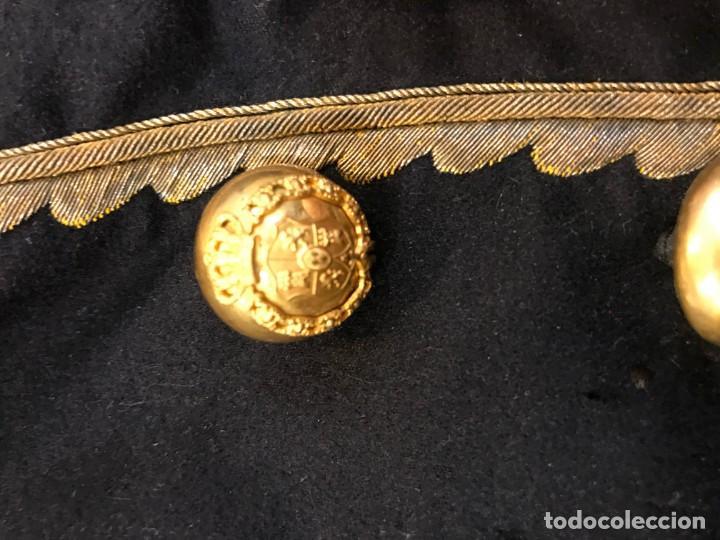 Militaria: precioso uniforme de gentilhombre de camara, alfonso xiii, - Foto 3 - 143098026