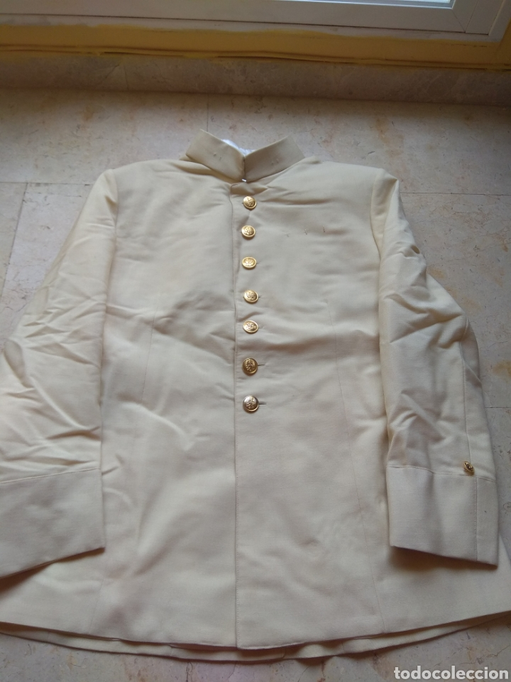 Militaria: Chaqueta Militar Blanca de Gala Infantería - Foto 14 - 144143860