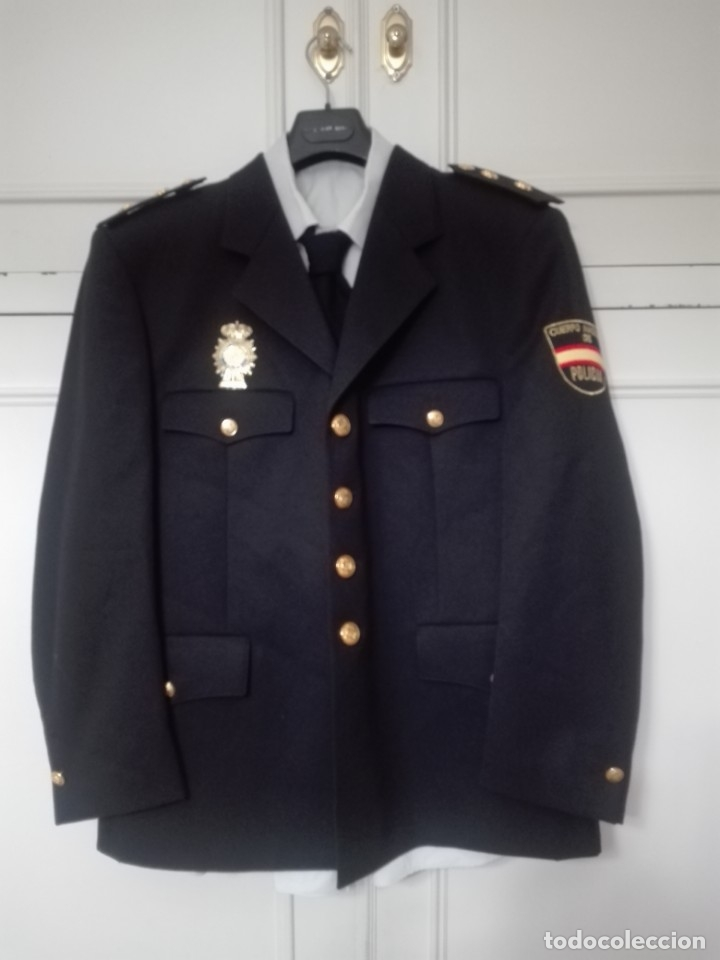 Uniforme de gala policia nacional inspector cha - Vendido