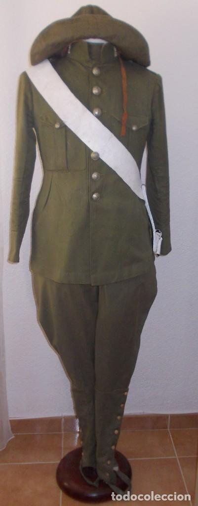 UNIFORME COMPLETO DE INGENIEROS M1914, ALFONSO XIII (Militar - Uniformes Españoles )