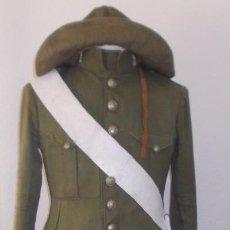 Militaria: UNIFORME COMPLETO DE INGENIEROS M1914, ALFONSO XIII. Lote 149323486