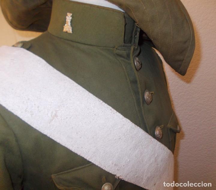 Militaria: Uniforme completo de ingenieros M1914, Alfonso XIII - Foto 2 - 149323486