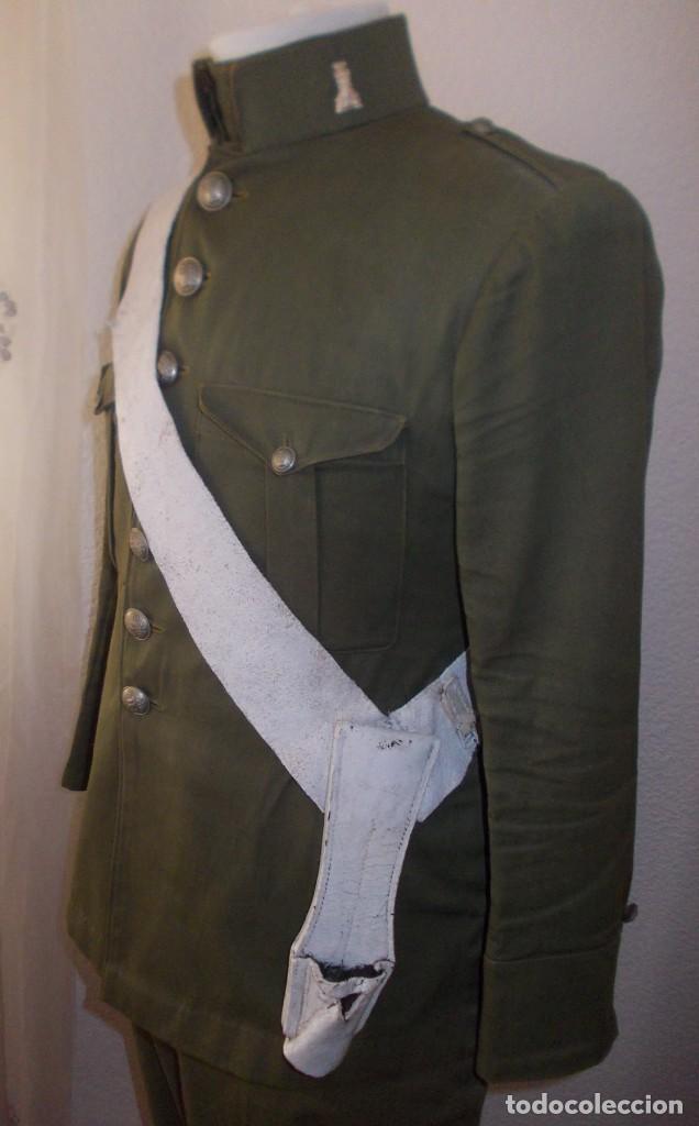 Militaria: Uniforme completo de ingenieros M1914, Alfonso XIII - Foto 4 - 149323486