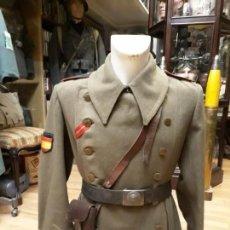 Militaria: TABARDO UTILIZADO POR SOLDADO DE LA DIVISION AZUL.ARTILLERIA.. Lote 149983038