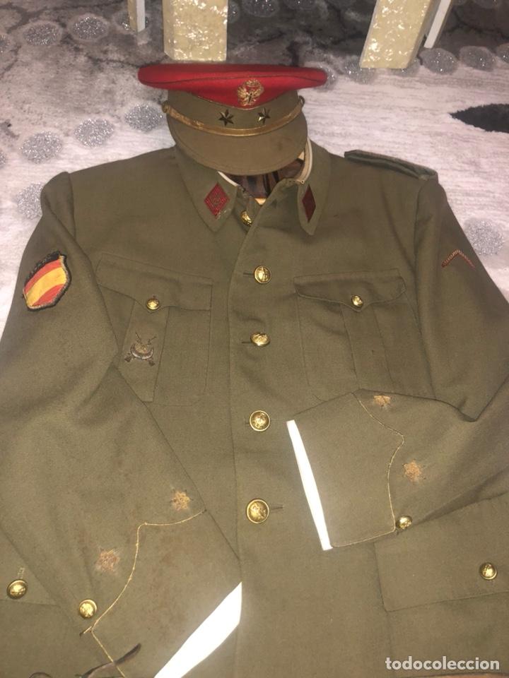 Militaria: Uniforme militar español año 60 - Foto 3 - 151707850