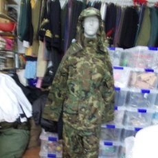Militaria: CHAQUETON INTERPERIE INFANTERIA DE MARINA TALLA 2 (M) MEDIANA CHAQUETA Y PANTALÓN. Lote 151935362