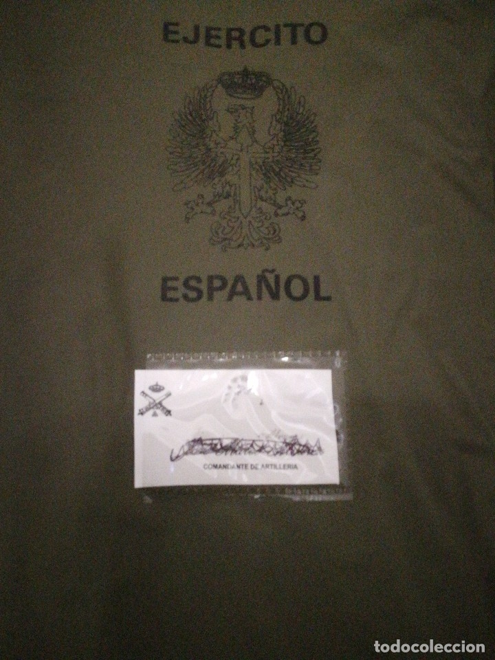 Militaria: UNIFORME COMANDANTE ARTILLERÍA. - Foto 13 - 152165170