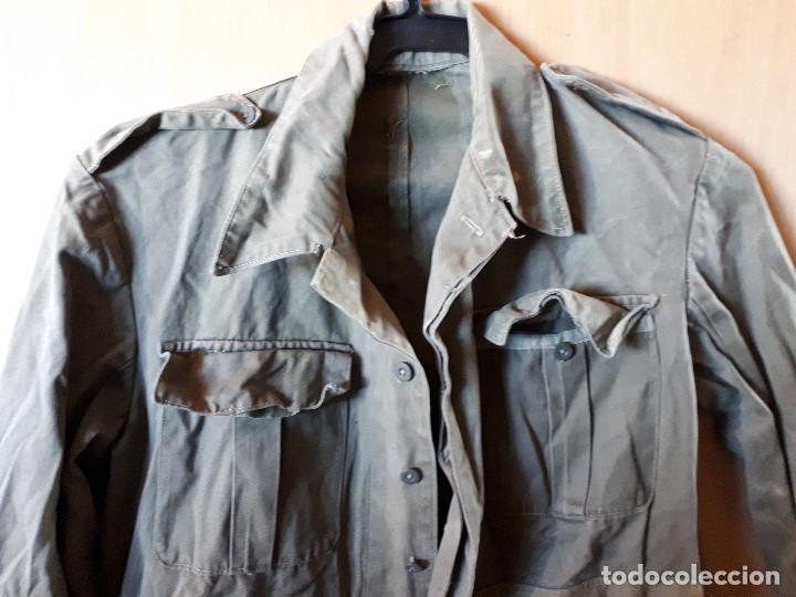 Militaria: Camisola / guerrera de confección artesanal - Foto 2 - 152464442