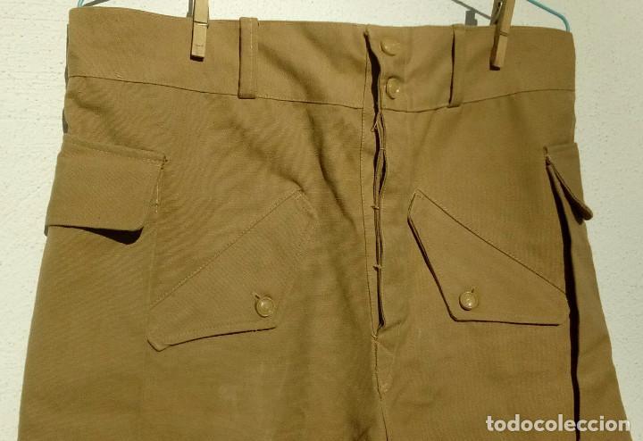 Militaria: Pantalón corto nomadeo ATN, Tropas Nómadas, Sáhara, talla XL, muy buen estado. Algodón. - Foto 4 - 152962238