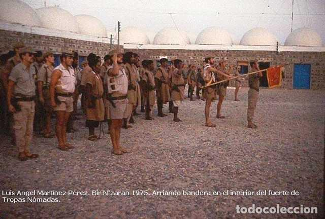 Militaria: Pantalón corto nomadeo ATN, Tropas Nómadas, Sáhara, talla XL, muy buen estado. Algodón. - Foto 7 - 152962238