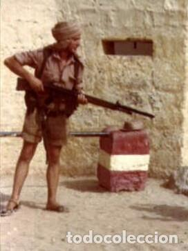 Militaria: Pantalón corto nomadeo ATN, Tropas Nómadas, Sáhara, talla XL, muy buen estado. Algodón. - Foto 8 - 152962238