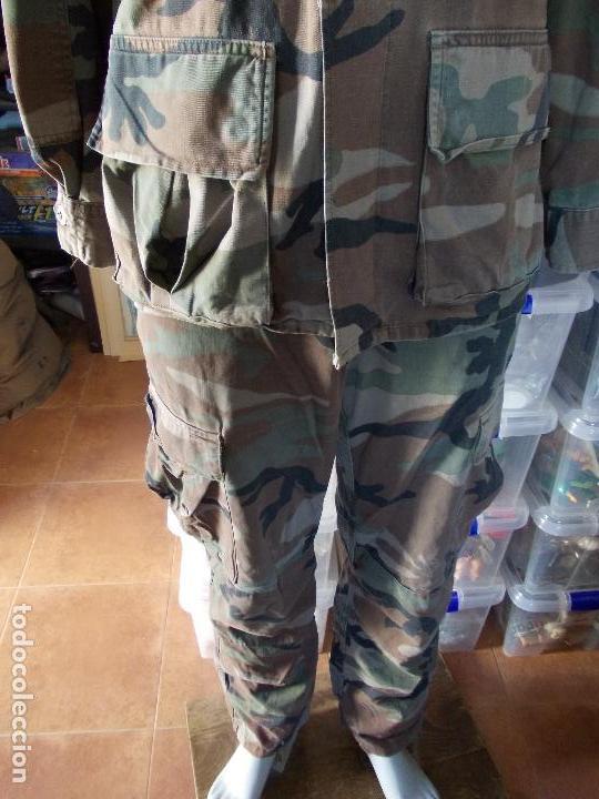 Militaria: UNIFORME DE INFANTERIA DE MARINA USADO CHAQUETA, GORRA Y PANTALÓN - Foto 2 - 153646870
