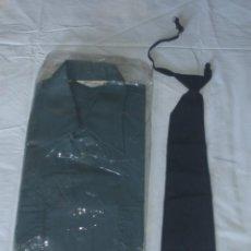 Militaria - Camisa y corbata del uniforme de Telégrafos - Correos Años 60 - Sin estrenar - 154023130
