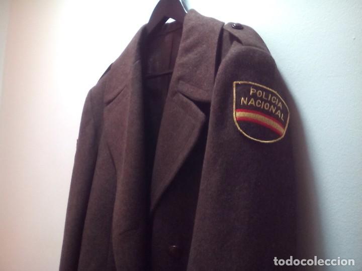 chaqueta y abrigo tres cuartos policía nacional - Comprar ...