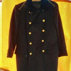 Militaria - Abrigo marina paño, cuello de terciopelo. - 155062082